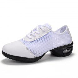 Hot Sports Feature Soft Outsole Breath Dance Shoes Sneakers For Woman Practice -