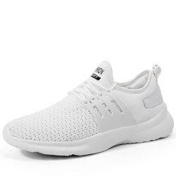 Ew Men Running Shoes Walking Breathable Sport Lace Up Trainers Sneakers Summer -