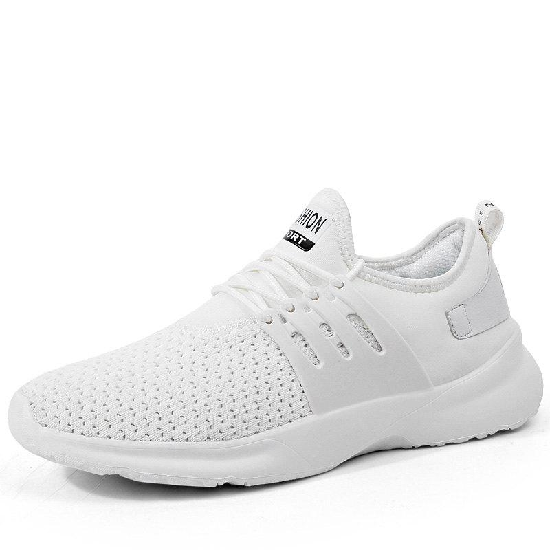 6437ebfe3f0cb2 Ew Men Running Shoes Walking Breathable Sport Lace Up Trainers Sneakers  Summer - Eu 45