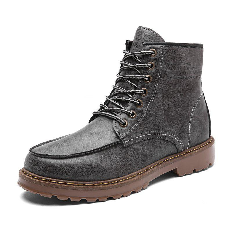 Hot Men Shoes Fashion Soft and Comfortable Breathable Lace Up