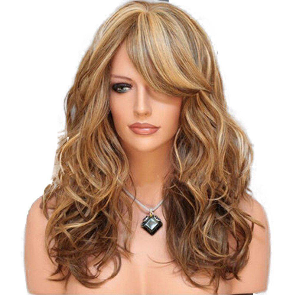 Sale Women'S Simulated Wig Long Wave Wig Fashion Wig