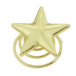 Gold Color Lovely Star Hair Clip -