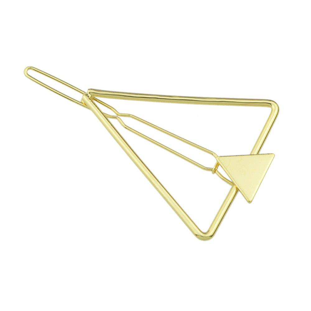 Buy Silver Triangle Shape Hair Clips