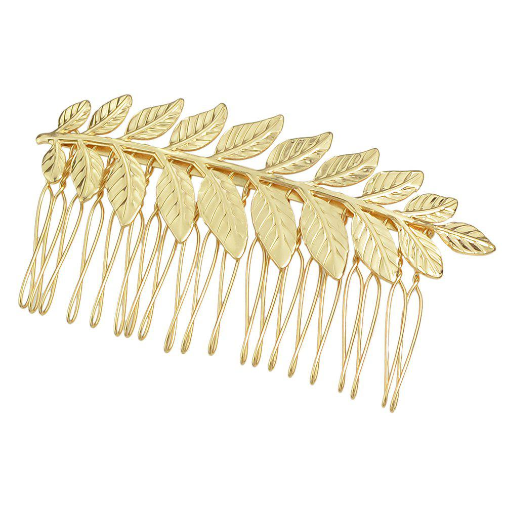 Outfit Leaf Hair Comb Hair Accessories