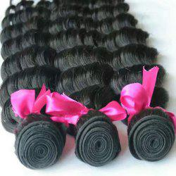 8-inch Five-Fingered Black Curly Hair -