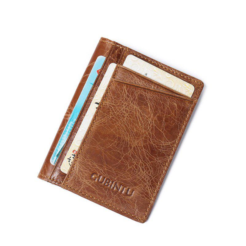 New Fashion Bank Card Package Coin Bag Card Holder Leather Men Or Women Wallet