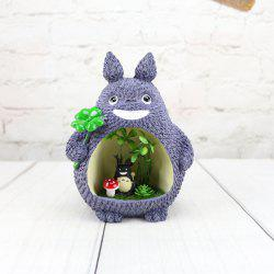 Chinchilla Flash résine décoration Home Decor cadeau - Multi-B 17 * 13cm