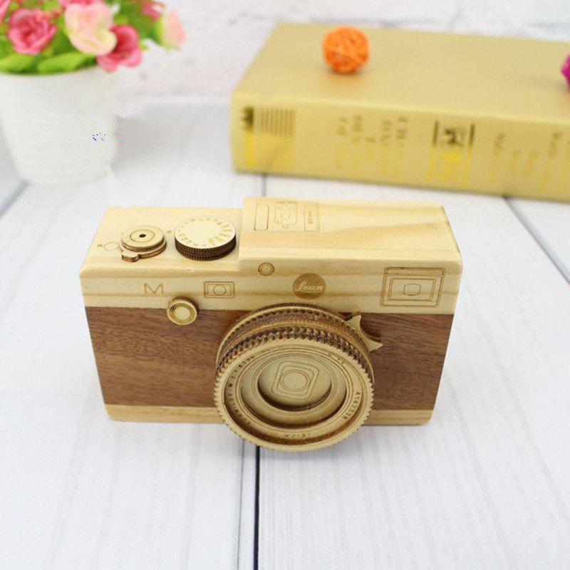 Camera Music Box Valentine's Day Birthday Gift Decoration Multi-A 10,5 * 8,5 cm 12,3 * 7,5 cm