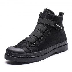 New Couple Unisex Boot Fashion Men Winter Snow Boots keep Warm Boots Plush Ankle -