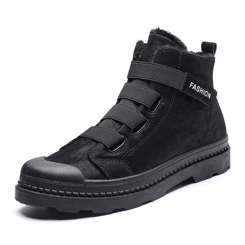 Best New Couple Unisex Boot Fashion Men Winter Snow Boots keep Warm Boots Plush Ankle