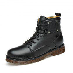 Men Shoes Fashion Breathable Soft and Comfortable Shoes Lace Up -