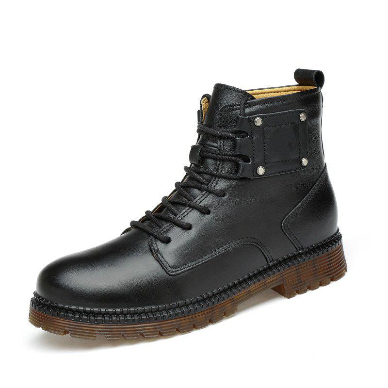 Store Men Shoes Fashion Breathable Soft and Comfortable Shoes Lace Up