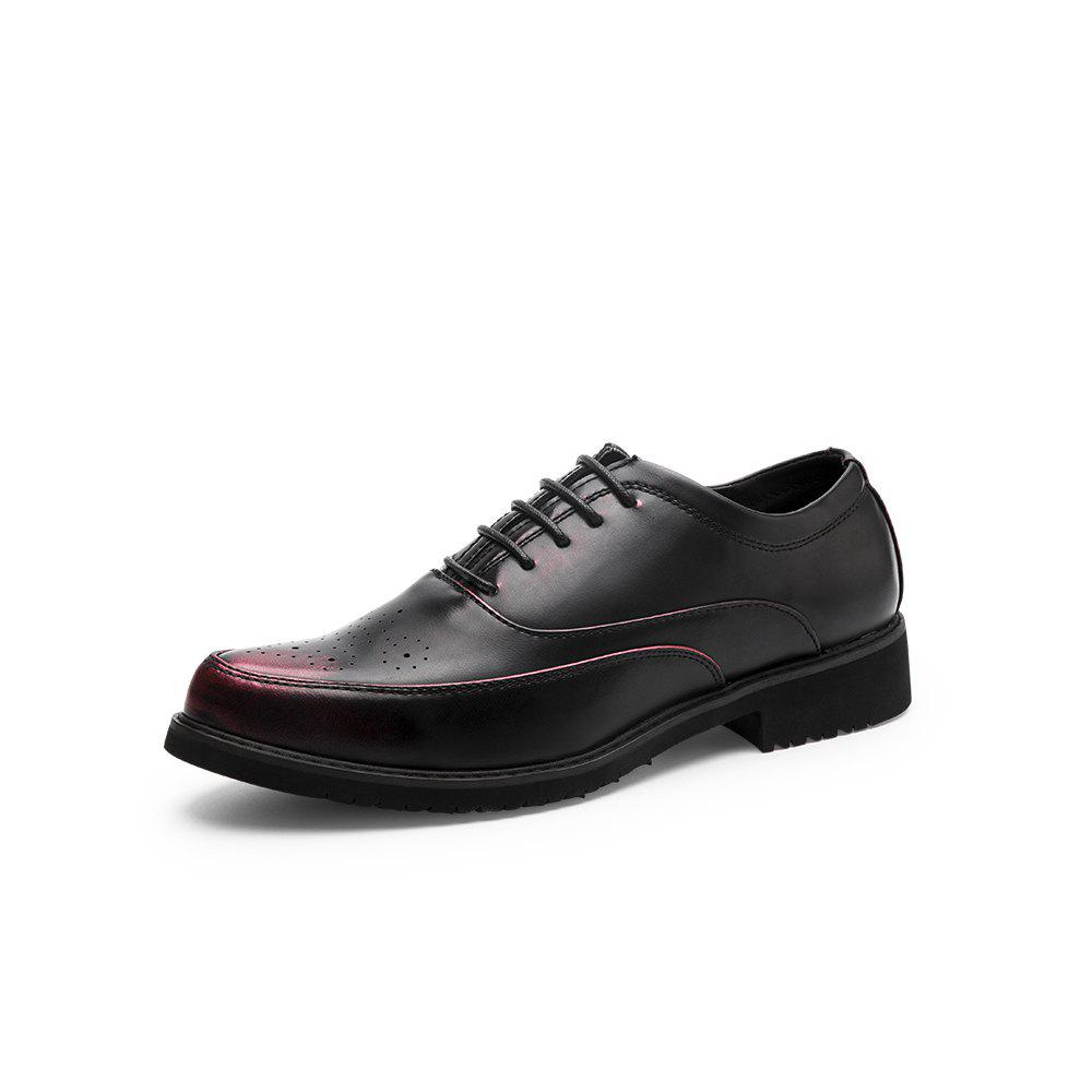 Chic Low Shoes Breathable Men'S Leather Shoes Work Shoes