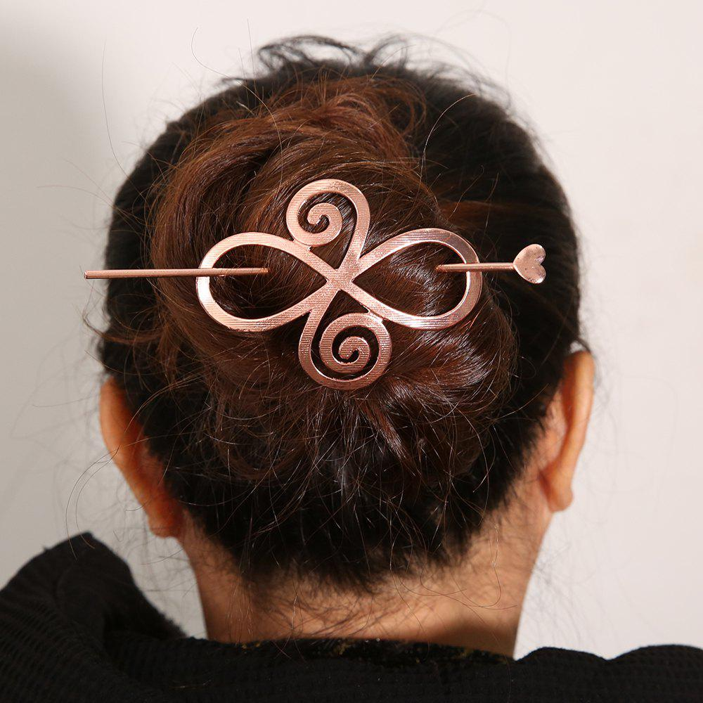 Sale New Alloy Hollow Bends A Word Hairpin Simple Hairpin Hair Accessories