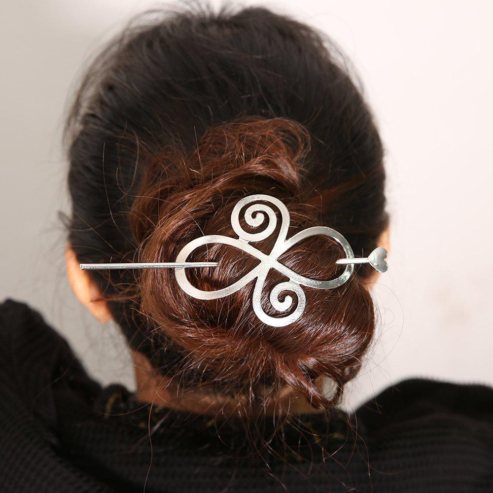 Shops New Alloy Hollow Bends A Word Hairpin Simple Hairpin Hair Accessories
