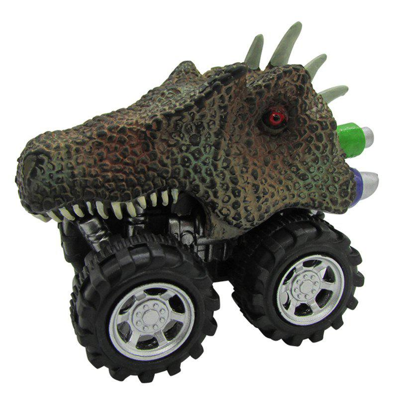 Fashion Children'S Day Gift Toy Dinosaur Model Mini Toy Car Back Of The Car Gift