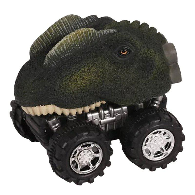 Shops Children'S Day Gift Toy Dinosaur Model Mini Toy Car Back Of The Car Gift