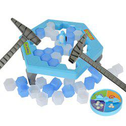 Save Penguin Icebreaker Puzzle Desktop Toy Game -