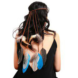 Hand-Knitted Tassel Feather National Style Hair Accessories -