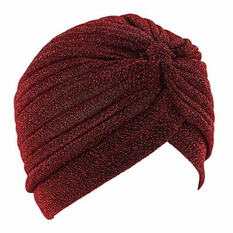 Fashion New Men Lady Fashion Shining Material India Sport and Casual Hat