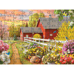 Cool  Elegant 3D Jigsaw Paper Puzzle Block Assembly Birthday Toy -