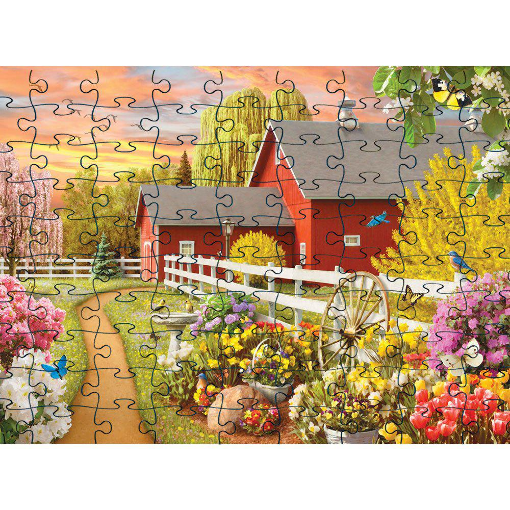 Shops Cool  Elegant 3D Jigsaw Paper Puzzle Block Assembly Birthday Toy