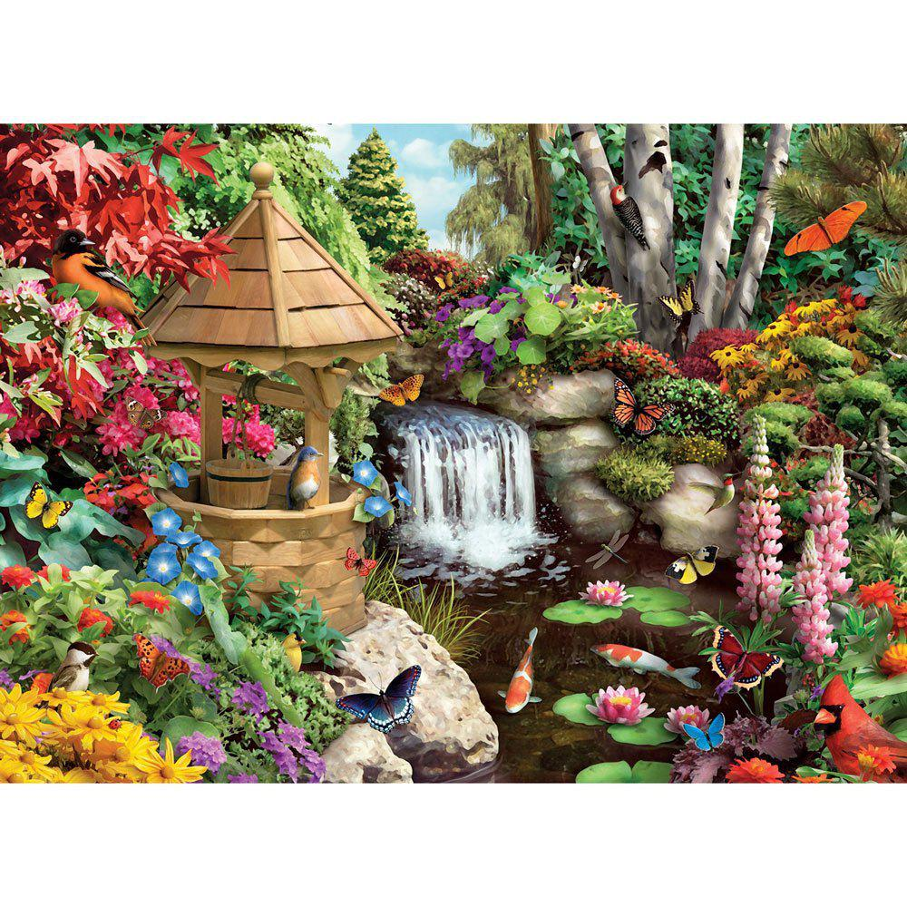 Affordable Forest View 3D Jigsaw Paper Puzzle Block Assembly Birthday Toy