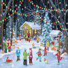 Snow View 3D Jigsaw Paper Puzzle Block Assembly Birthday Toy -