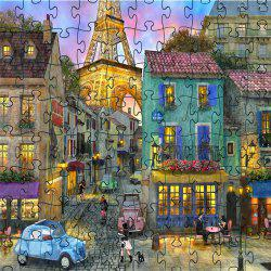 Old Castle 3D Jigsaw Paper Puzzle Block Assembly Birthday Toy -