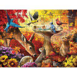 Birds 3D Jigsaw Paper Puzzle Block Assembly Birthday Toy -