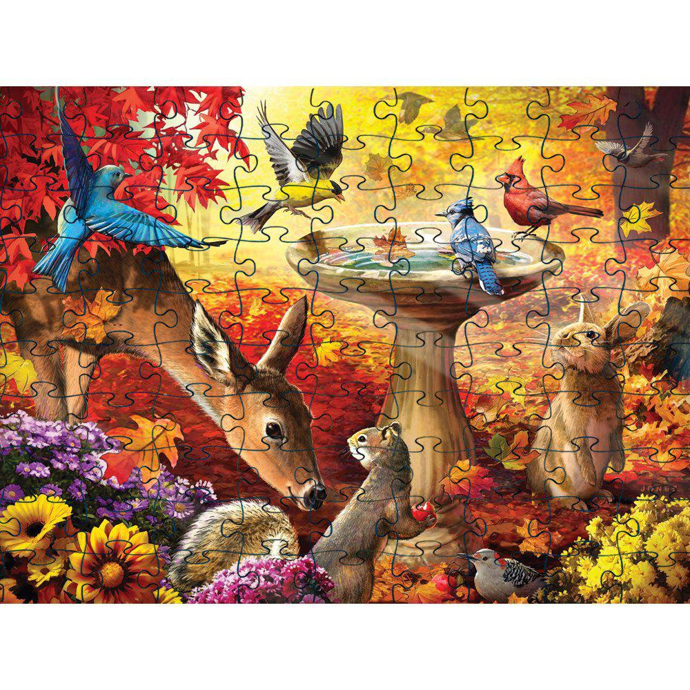 Cheap Birds 3D Jigsaw Paper Puzzle Block Assembly Birthday Toy