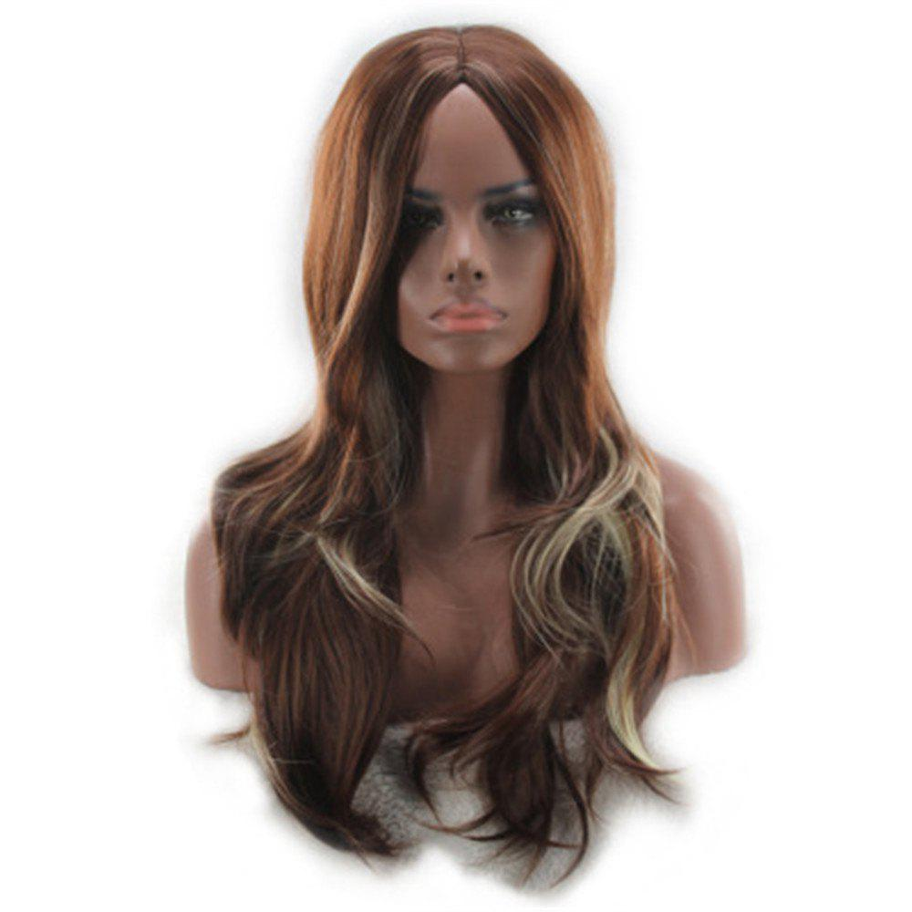 Discount Wig Female Long Curly Hair Big Wave in The Long Fiber Wig