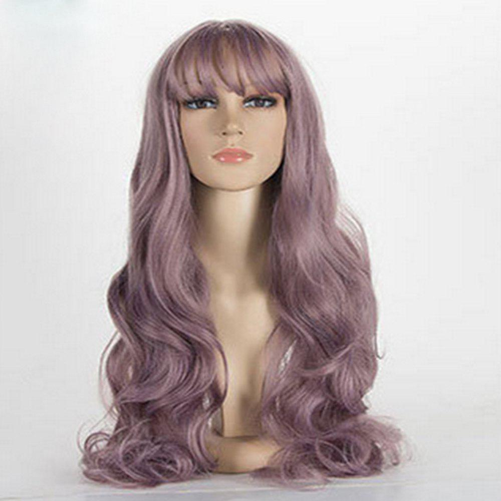 Outfits Fashion Lady Simulation Long Roll Wig