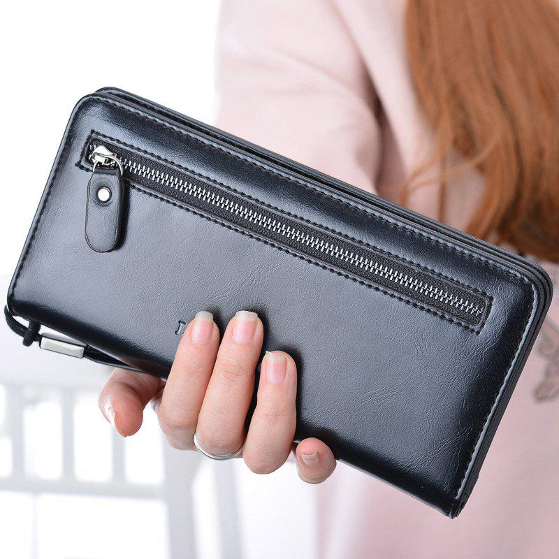 New Zipper Multi-Function Simple Large Capacity Wallet