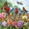 3D Jigsaw Paper Flying Birds Puzzle Block Assembly Birthday Toy -