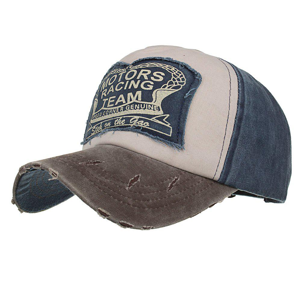 Fancy New Color Contrast Patch Casual Fashion Baseball Cap