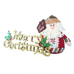 Christmas Three-Dimensional English Alphabet Card Christmas Tree Decoration Card -