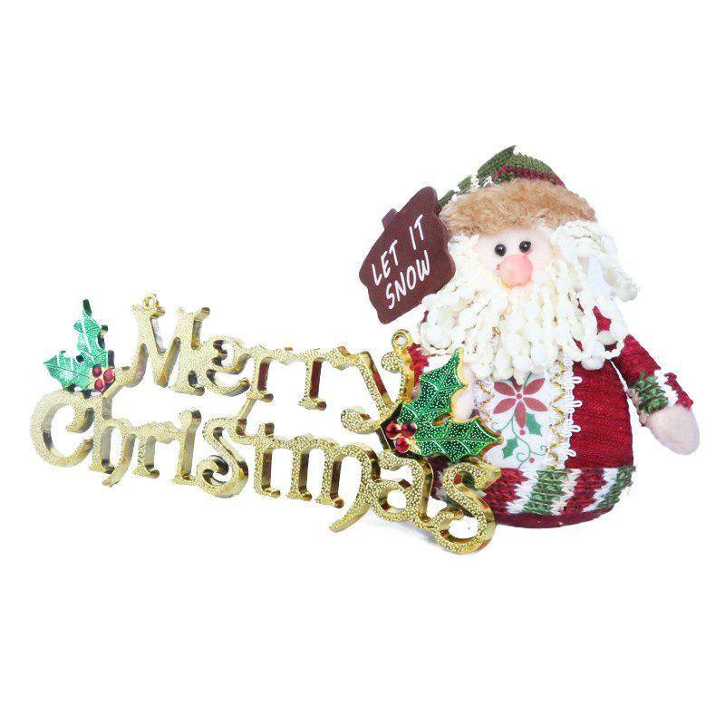 New Christmas Three-Dimensional English Alphabet Card Christmas Tree Decoration Card