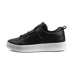 Men Shoes White Fashion Cool Sneakers All-Match High Top White Shoes for Men D55 -