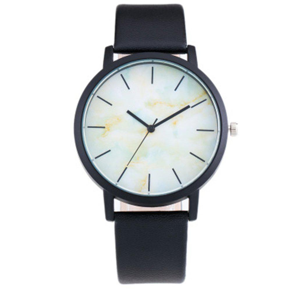 Buy Personality Trend Marble Dial Quartz Watch