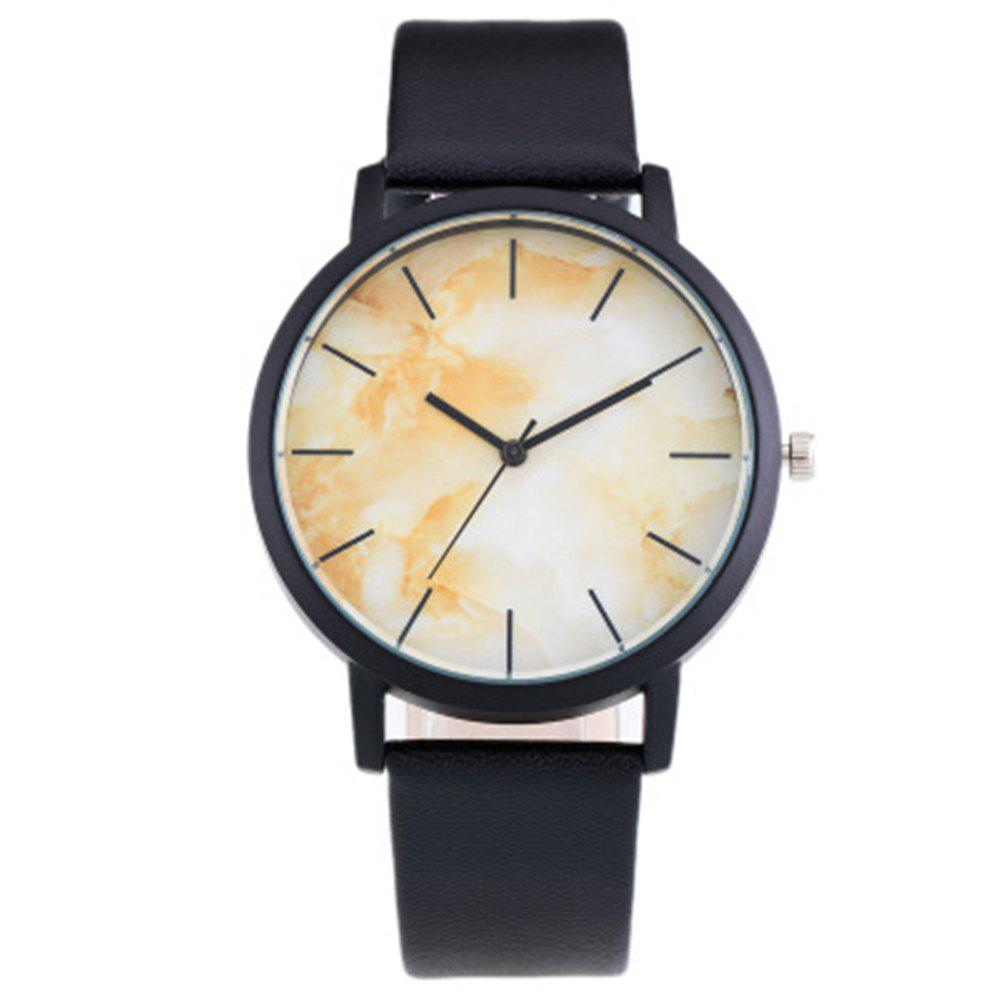 Fancy Personality Trend Marble Dial Quartz Watch