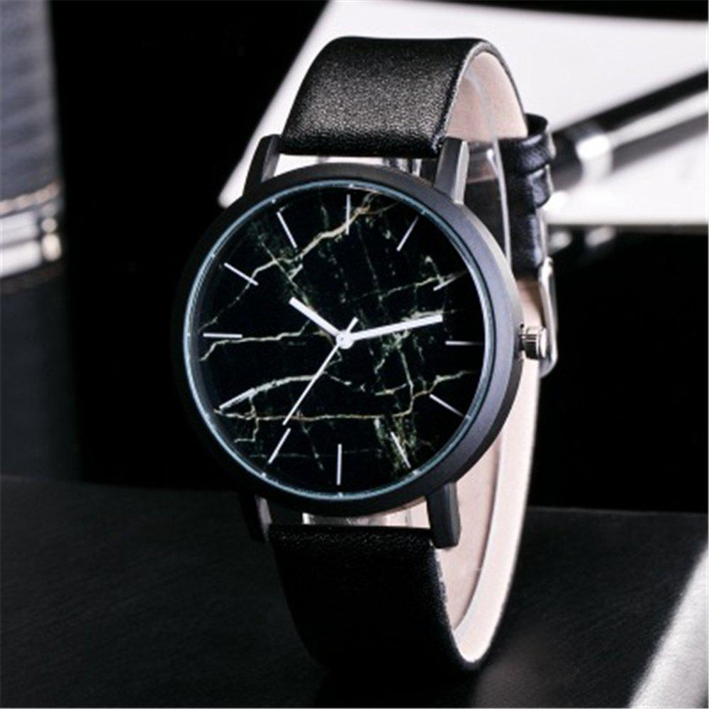 Affordable Personality Trend Marble Dial Quartz Watch