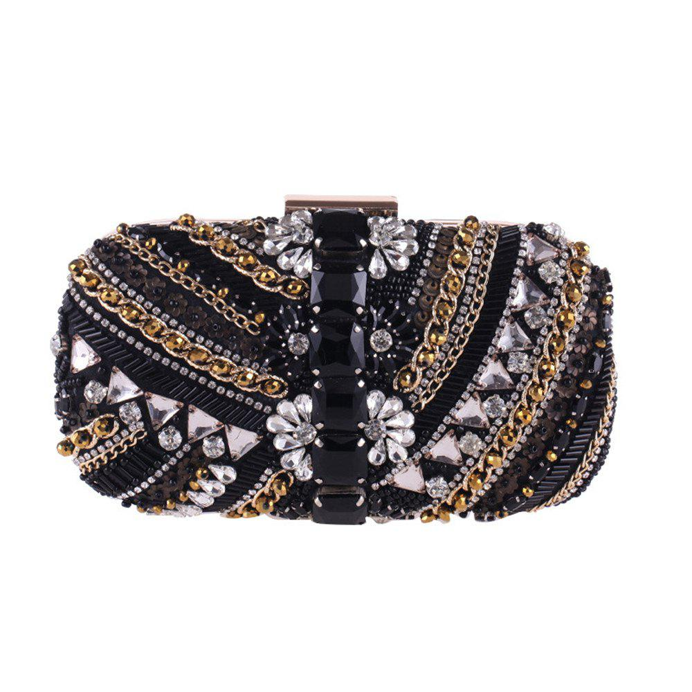 Best The New Manual Nail Beaded Evening Bags Will Dress Dinner Bag Hand Bag