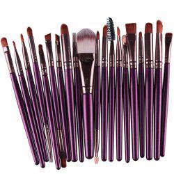 20 Eye Makeup Brush Eye Shadow Brush Beauty Tools -