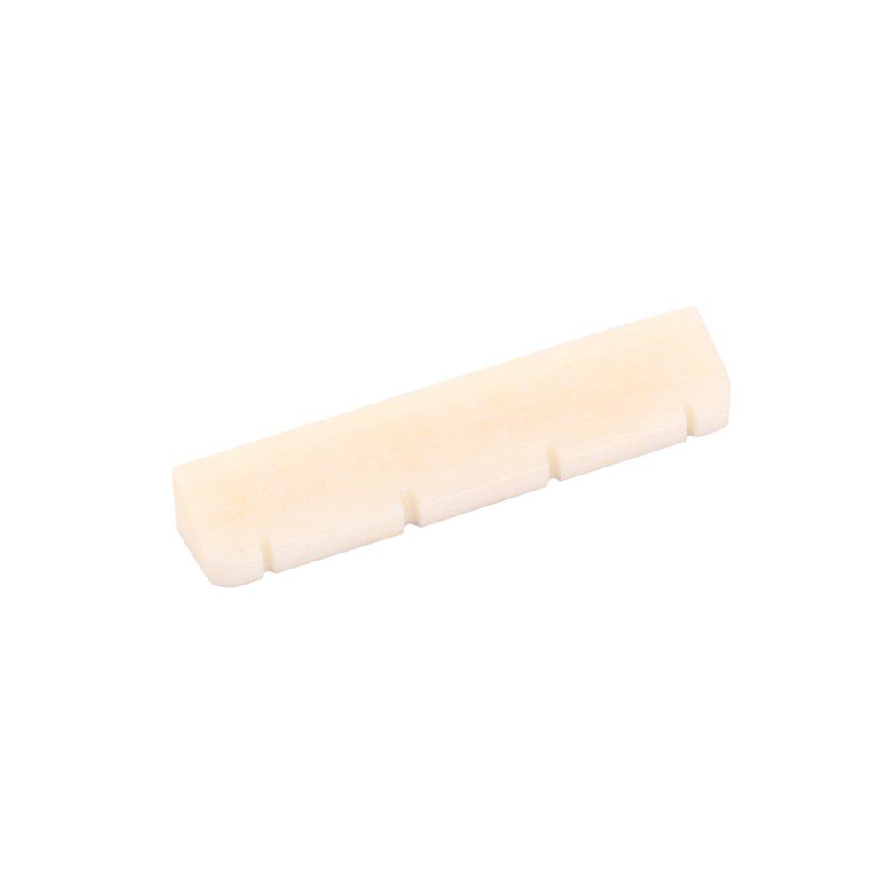 Buy Bone Nut for 4 String Electric Guitar White