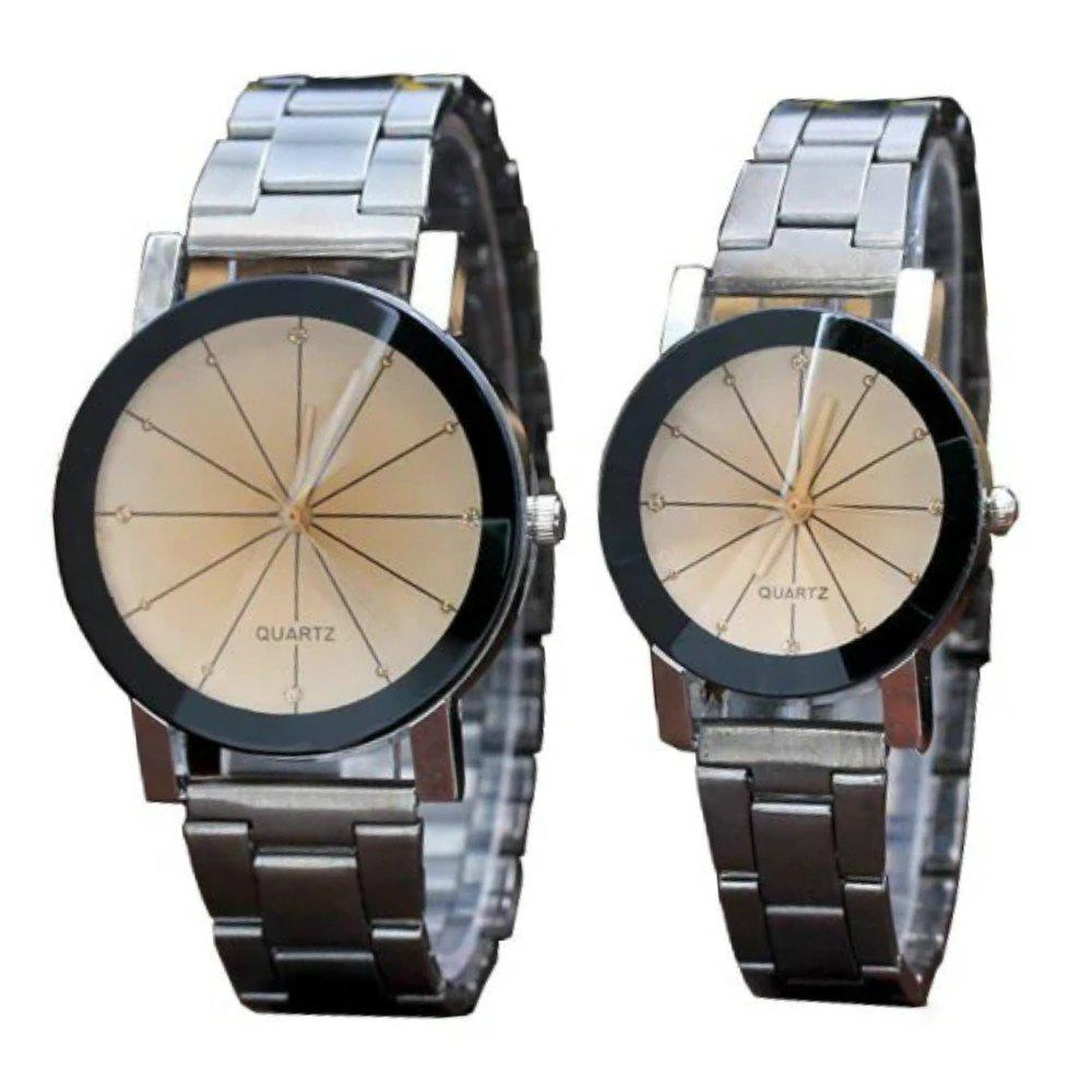 Store V5 Fashion Personality Meteor Shower Dial Quartz Lovers Watch