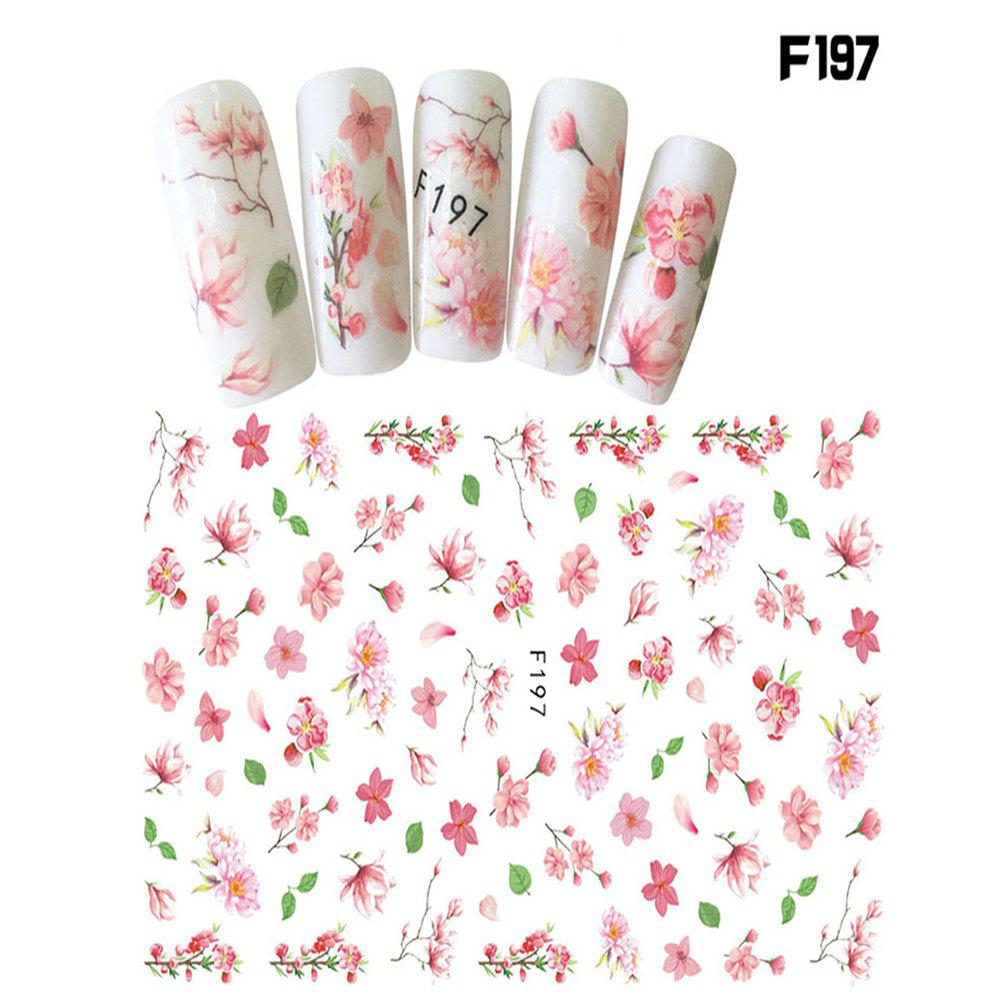Buy Manicure Sticker Ink Flower 3D Nail Sticker Big Flower F Series Sticker