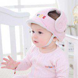 Baby Head Protector Letter Pattern Baby Safety Hat -