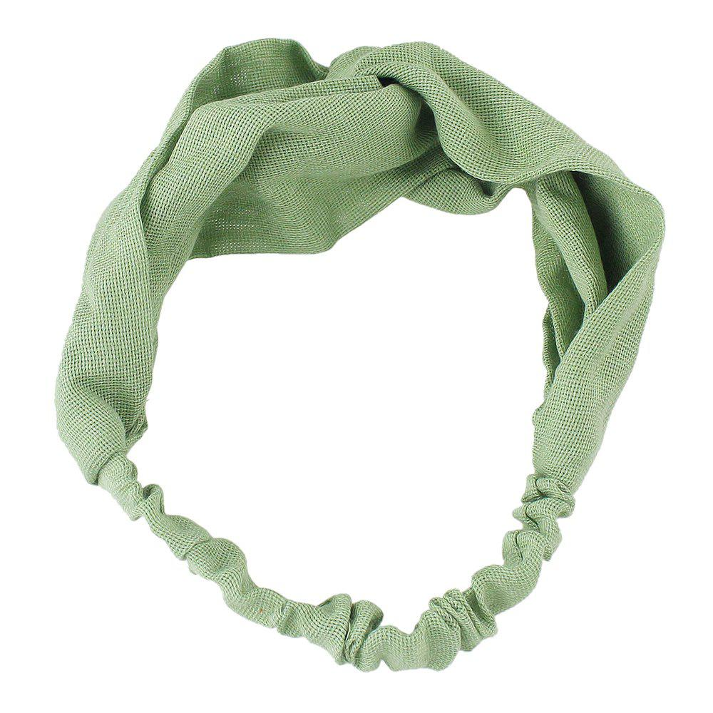 Shops Solid Color Elastic Hair Band