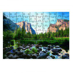 Rivers Mountains Nature Jigsaw Puzzle -